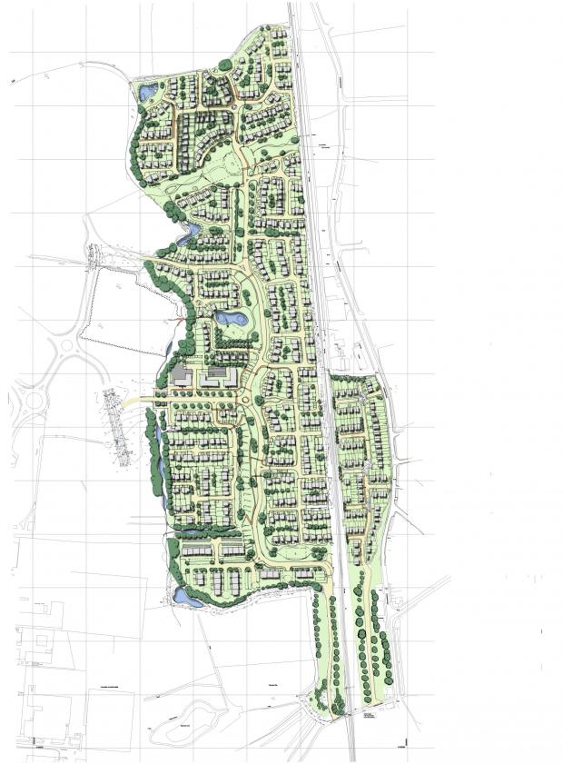 The Advertiser Series: The masterplan for the Faverdale Garden Village development