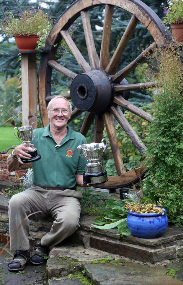 The Advertiser Series: Malcolm Short, winner of Darlington in Bloom best overall garden at last year's event