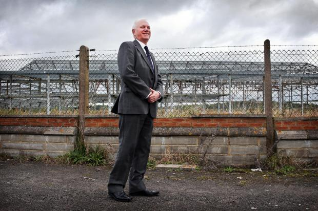 The Advertiser Series: Peter Nears, Peel's strategic planning director, stood at the former sports and tennis centre hangar building at Durham Tees Valley Airport