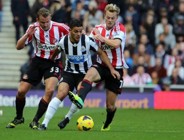 The Advertiser Series: MATCH WINNER: Alan Pardew has challenged Hatem Ben Arfa to play a crucial role in today's Tyne-Wear derby with Sunderland