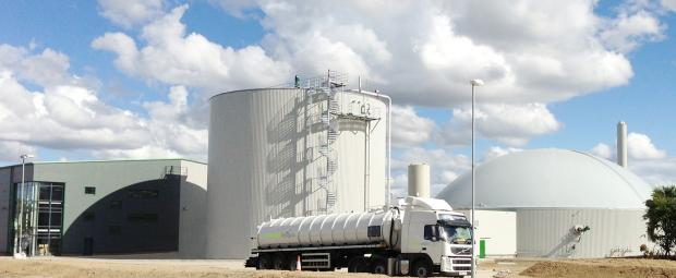 The Advertiser Series: The Emerald Biogas plant, in Newton Aycliffe, County Durham