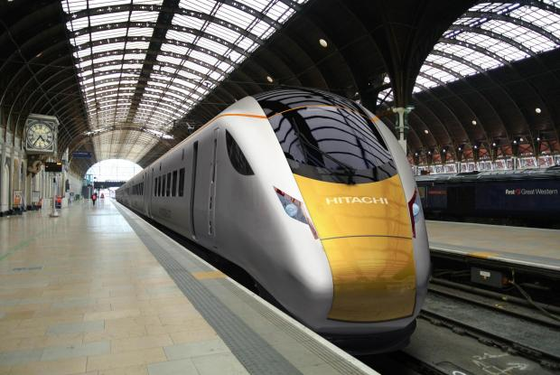 The Advertiser Series: Hitachi Rail Europe says Lordgate Engineering will supply luggage racks for its new trains