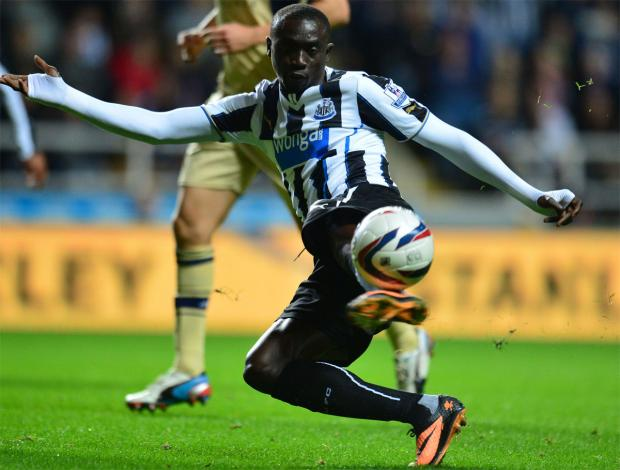The Advertiser Series: Staying put? Papiss Cisse did not move to Turkey yesterday