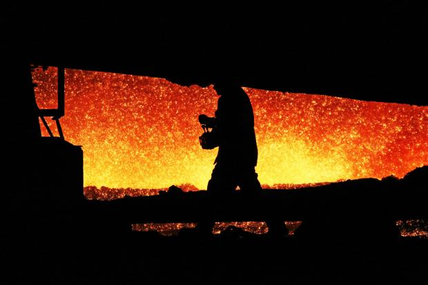 The Advertiser Series: A steelworker in the blast furnace on Teesside