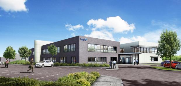 The Advertiser Series: NEW BUILD: An artist's impression of Tracerco's new building