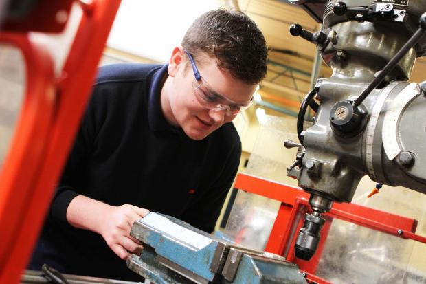 The Advertiser Series: Apprentice James Bates learns his trade at South West Durham Training, in Newton Aycliffe