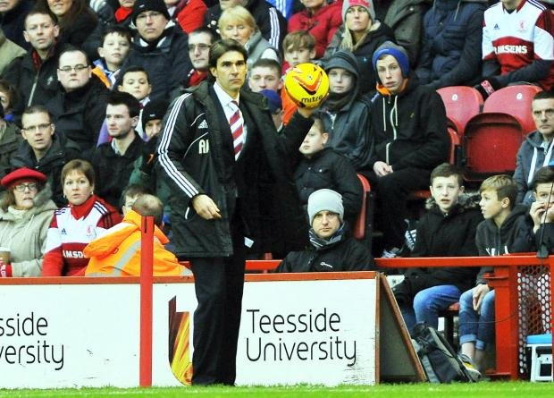 The Advertiser Series: PAY BACK: Middlesbrough manager Aitor Karanka is keen to repay the club's loyal supporters