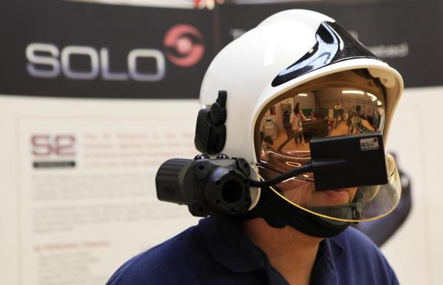 The Advertiser Series: A helmet and camera developed by Darlington-based Solo-Ti