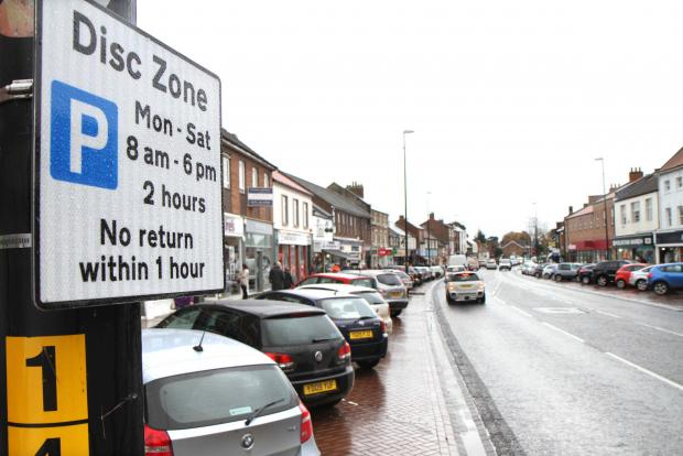 The Advertiser Series: Northallerton High Street - charges will be introduced on Ju