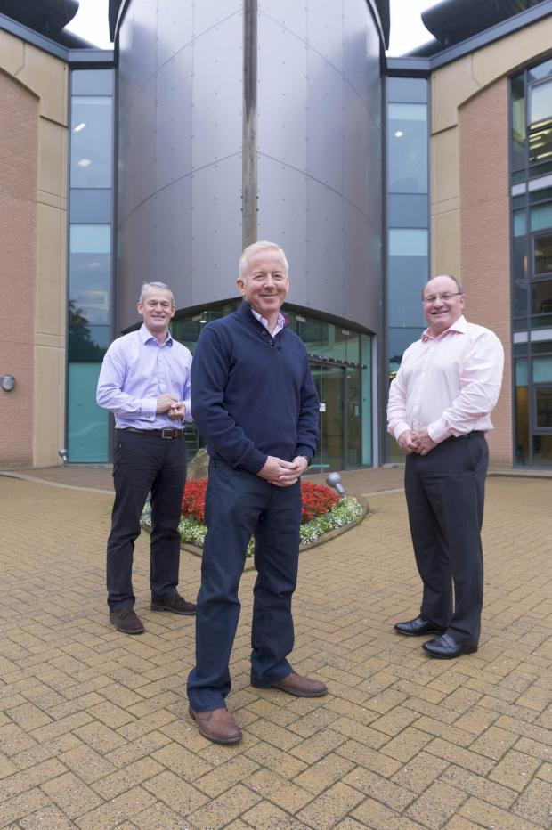 The Advertiser Series: From left, Paul Jennings, Alan Wilson and Geoff Parkinson