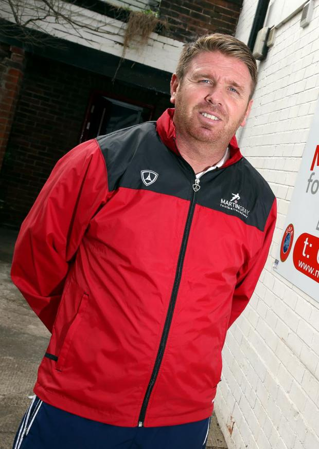 The Advertiser Series: TRANSFER HOPES: Darlington manager Martin Gray
