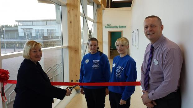The Advertiser Series: OPENING TIME: Pat Glass MP opens new community room at Tesco