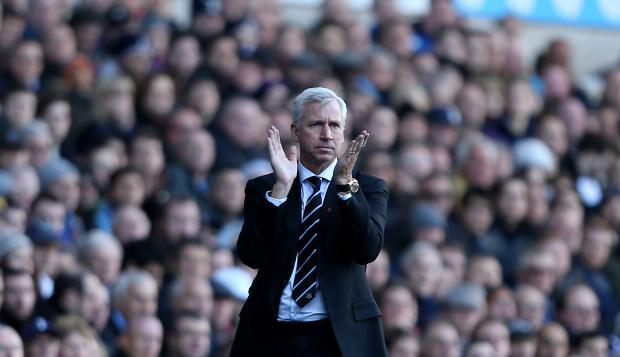 The Advertiser Series: FUNDING BOOST: Alan Pardew is hoping Newcastle's £9.9m profit will persuade Mike Ashley to loosen the purse strings this summer