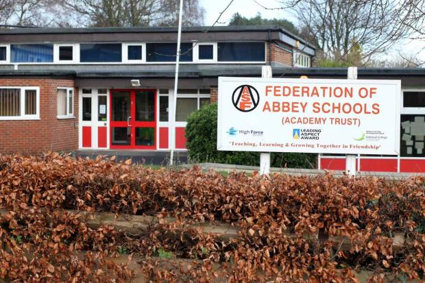 The Advertiser Series: Federation of Abbey Schools: seeking to amend catchment area