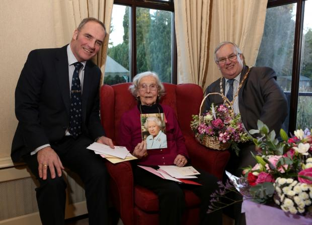 The Advertiser Series: Centenarian marks her birthday in Bedale