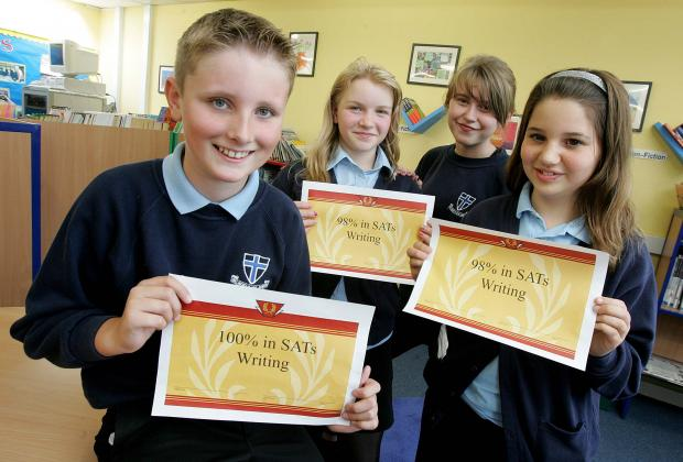 The Advertiser Series: Pupils at Belmont Junior School in 2011