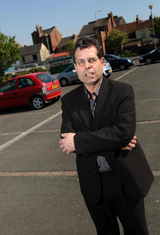 The Advertiser Series: Councillor Sam Zair who is to pay for safety grips at stairs where a pensioner almost fell