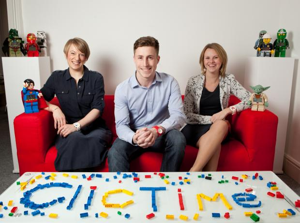 The Advertiser Series: Left to right: l-r: Helen Warren, Sintons; Ross Clark, ClicTime; Donna Hunwick, Sintons
