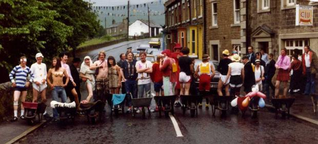 The Advertiser Series: STARTER'S ORDERS: The fancy dress wheelbarrow race of 1982