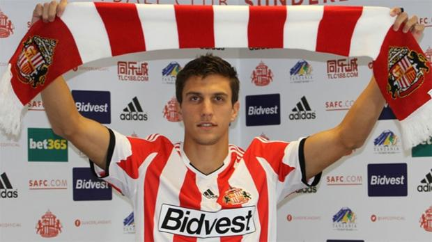The Advertiser Series: NEW SIGNING: Argentinian defender Santiago Vergini has moved to Sunderland on loan