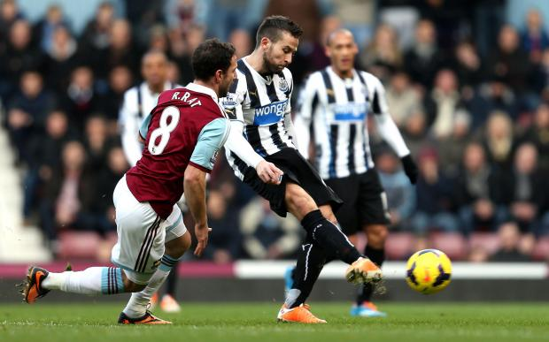 The Advertiser Series: JANUARY MOVE? Newcastle midfielder Yohan Cabaye is attracting interest this month