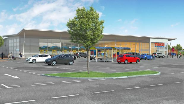 The Advertiser Series: NEW PLANS: Tesco's proposed Clifford Road store