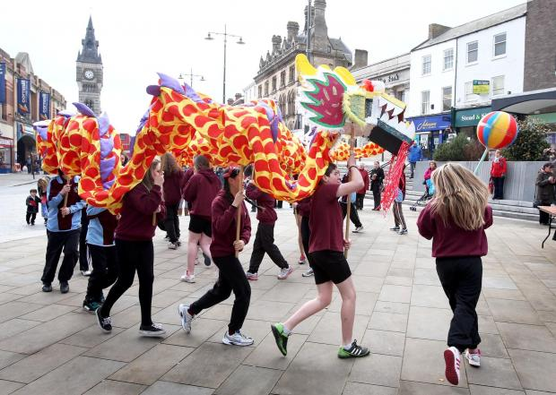 The Advertiser Series: FLASH BACK: Last year's celebrations in Darlington. A similar event will take place next week.
