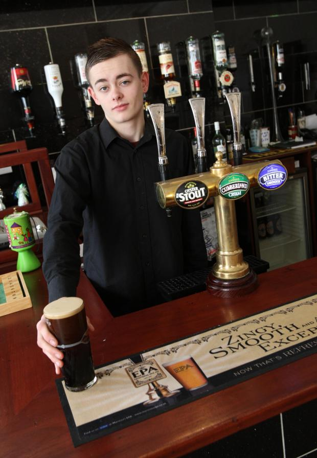 The Advertiser Series: Barman Jason Wright at The New Cross