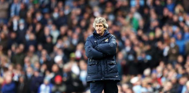 The Advertiser Series: TROPHY TREBLE: Manuel Pellegrini is hoping to add the FA Cup and Premier League title to the Capital One Cup that Manchester City won yesterday