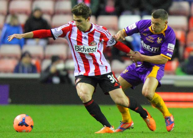 The Advertiser Series: OPTIMISTIC: Fabio Borini is hoping a win over Everton tomorrow could spark Sunderland into life - just as it did in December