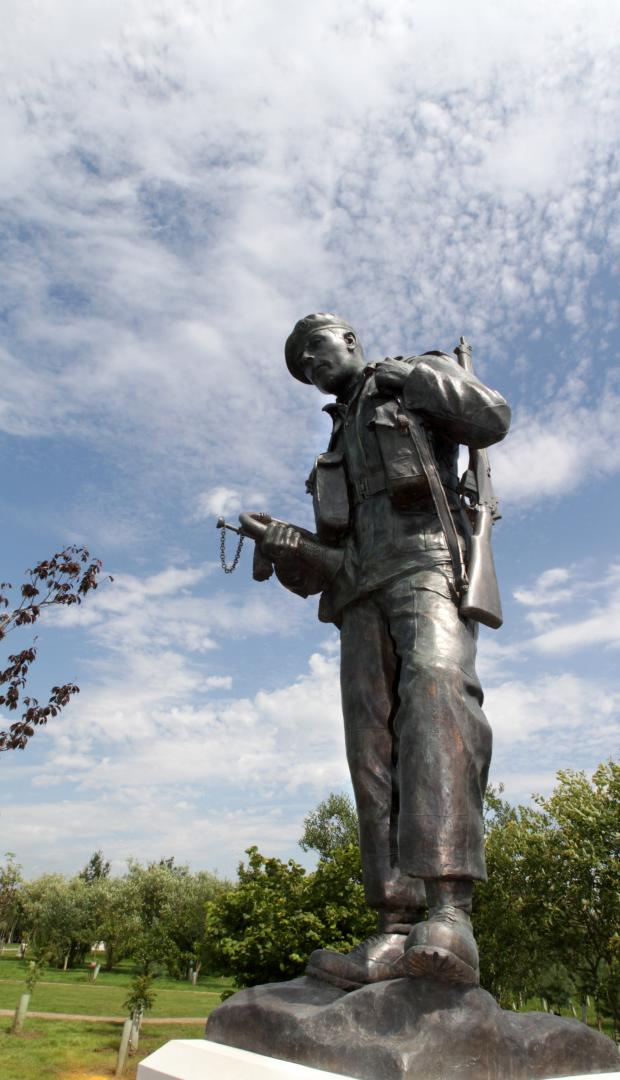 The Advertiser Series: The orginal DLI Memorial unveiled in Staffordshire