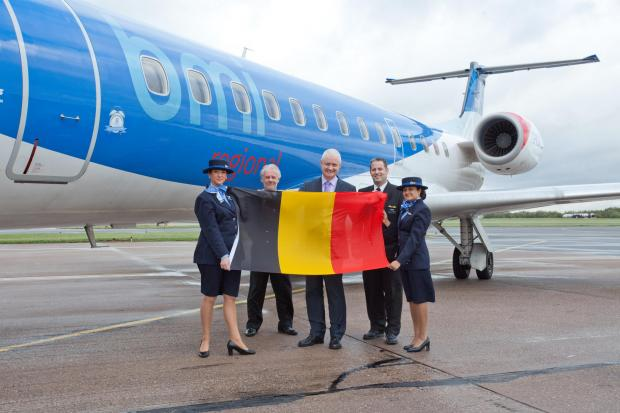 The Advertiser Series: bmi regional will start services from Newcastle to Brussels on March 3