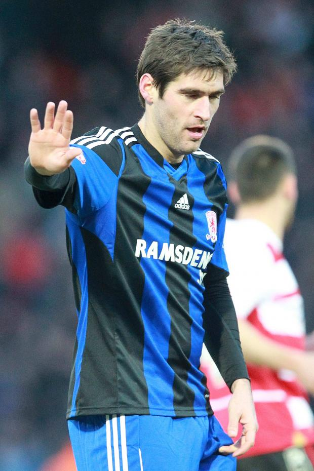 The Advertiser Series: Doubled up: Danny Graham scored both goals as Boro beat Ipswich