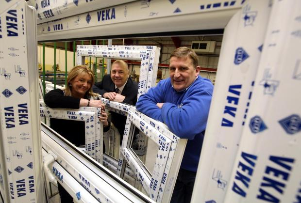 The Advertiser Series: Pictured from left to right are Heather Ramshaw, Councillor Paul Watson, and Ed Ramshaw, in the company's new factory