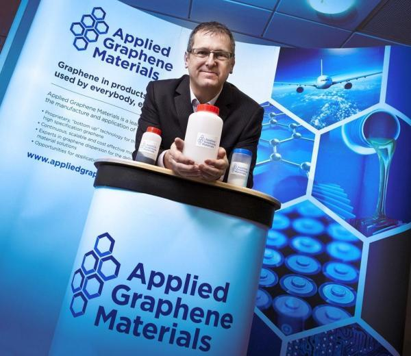 The Advertiser Series: Jon Mabbitt, Applied Graphene Materials' chief executive