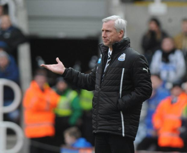 The Advertiser Series: CAUGHT IN THE MIDDLE: Newcastle boss Alan Pardew