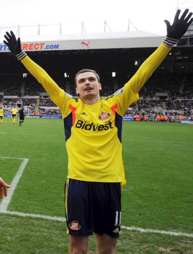 The Advertiser Series: Confident: Adam Johnson thinks Sunderland are well placed to stay up