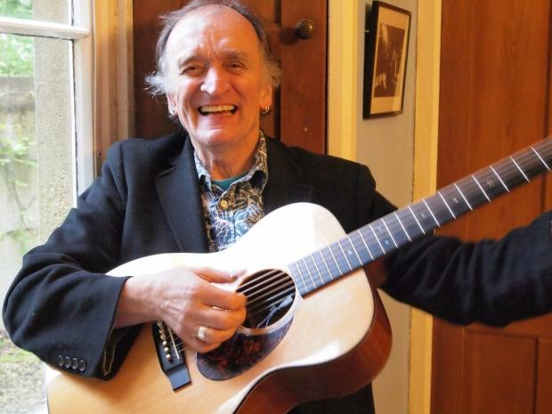 The Advertiser Series: Headline act at BAMfest 2014 Martin Carthy
