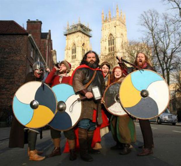The Advertiser Series: York is gearing up for its week-long Jorvik Viking Festival during the half-term holiday