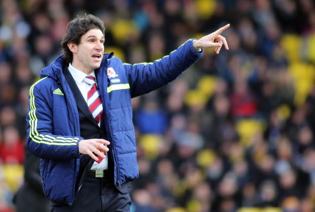 The Advertiser Series: RIGHT DIRECTION: Aitor Karanka feels Middlesbrough have made progress since his first game at Leeds