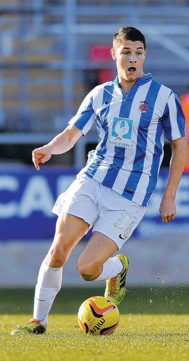 The Advertiser Series: WONDER STRIKE: Midfielder Bradley Walker last night scored a fine goal for Pools