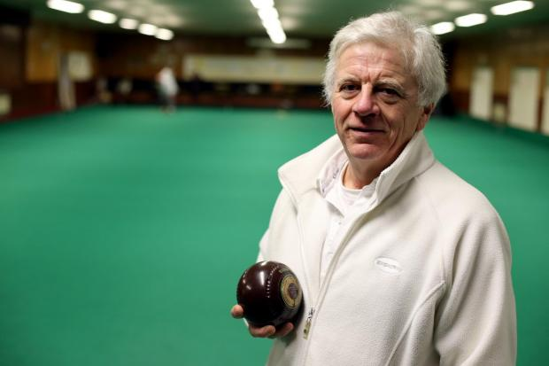 The Advertiser Series: BOWLED OVER: Spennymoor Indoor Bowling Club secretary and treasurer Alan Clark