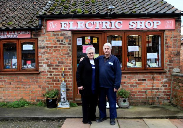 The Advertiser Series: The Electrical shop in Thirsk which brought power to Thirsk and Catterick Garrison set to close after 91 years, pictured owners David and Susan Higgs