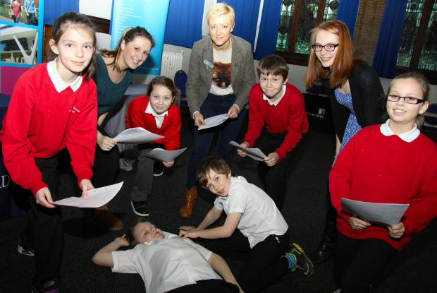 The Advertiser Series: THEY'RE BARD: Year 6 students from Mount Pleasant School, Darlington