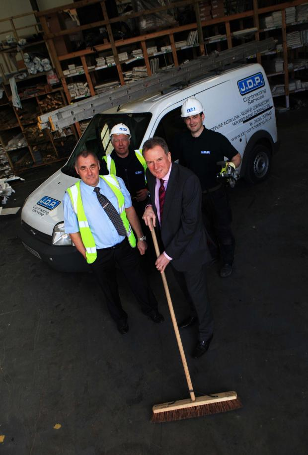 The Advertiser Series: JDP Contracting Services is setting up a DIY SOS challenge, f