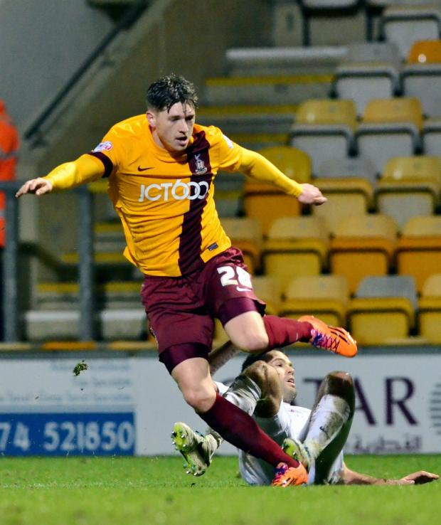 The Advertiser Series: LOAN RANGER: Adam Reach spent time on loan at Bradford City this season