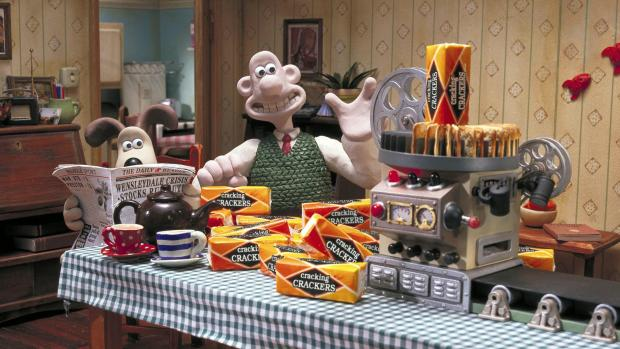 The Advertiser Series: CRACKERS FOR CHEESE: Famous Wensleydale fans Wallace and Gromit
