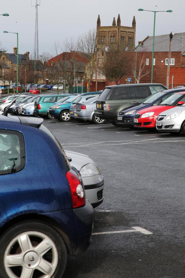 The Advertiser Series: RESTRICTION PROPOSED: Albert Road car park in Consett