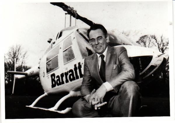 The Advertiser Series: Sir Lawrie Barratt, founder of Barratt Developments