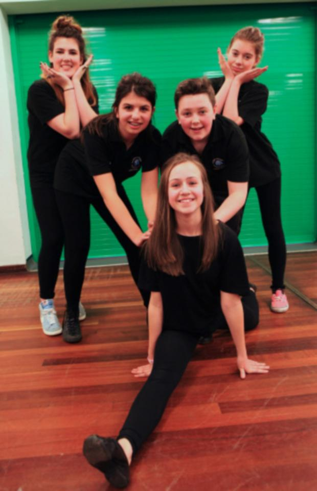 The Advertiser Series: Dance students at Bishop Barrington School